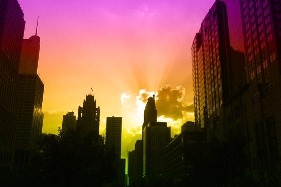 city, skyline,streeterville