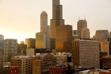 chicago-buildings-sunset