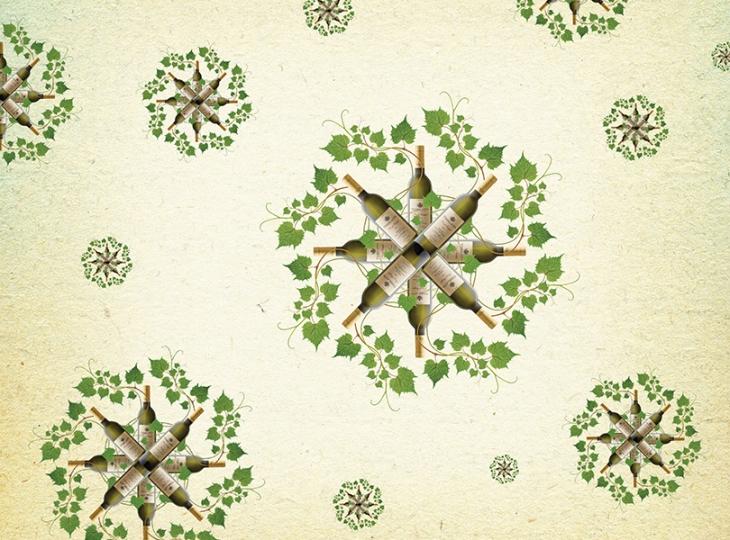 wine wreath image